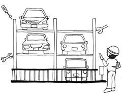 機械式駐車場の長期修繕計画を考える