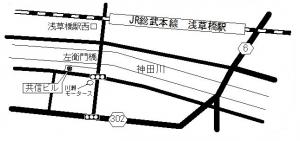 マンション管理組合支援センターの地図
